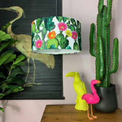 Cactus Garden Lampshade