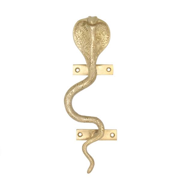 Serpent Snake Door Handle Cut out