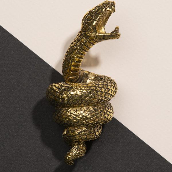 Serpent Snake Bottle Opener in Black or Gold