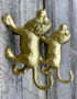 Luxe Gold Lion Hook