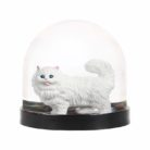 Kitsch Kitty Cat Christmas Snow Globe