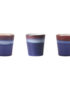 70's Inspired Ceramic Cup - Air. Variations in Glaze