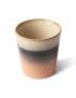 70's Inspired Ceramic Cup -Tornado