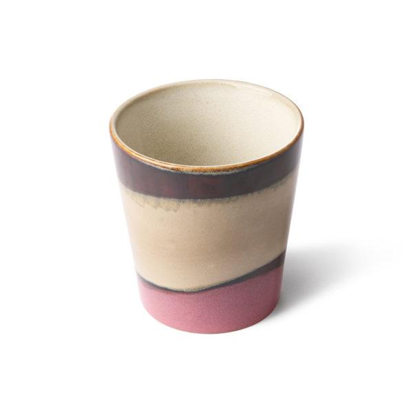 70's Inspired Ceramic Cup - Dunes.