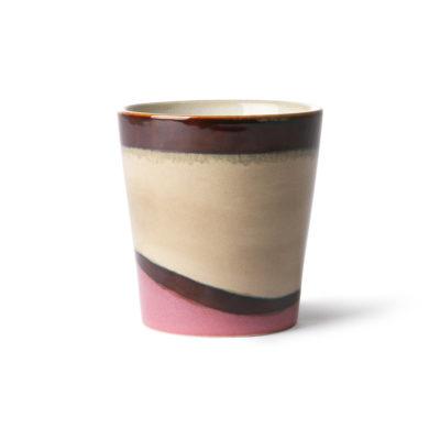 70's Inspired Ceramic Cup - Dunes