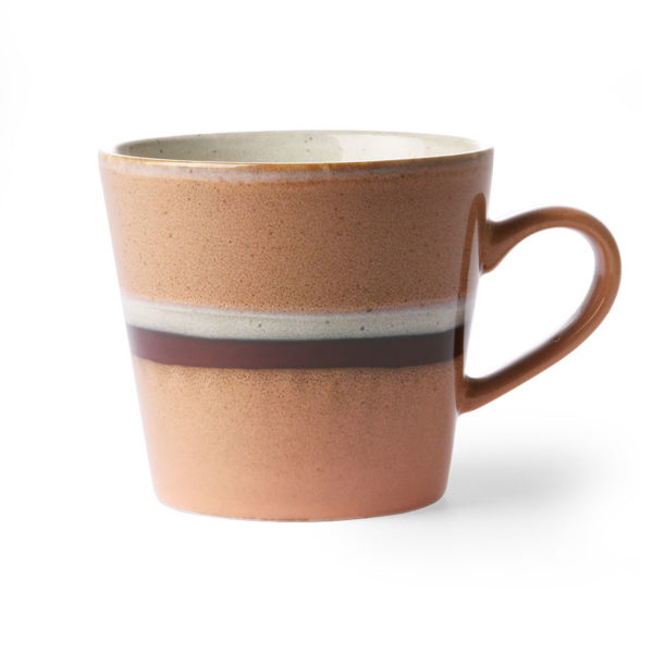 70's Inspired Ceramic Mug - Stream