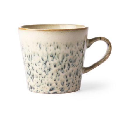 70's Inspired Ceramic Mug - Hail