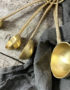 Set of Feather Measuring Spoons