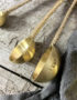 Set of Feather Measuring Spoons Close Up