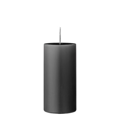 Grey Pillar Candles - 2 Sizes Available
