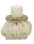Distressed Decorative Candle Plinth