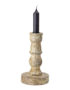 Mango Wood Candlestick