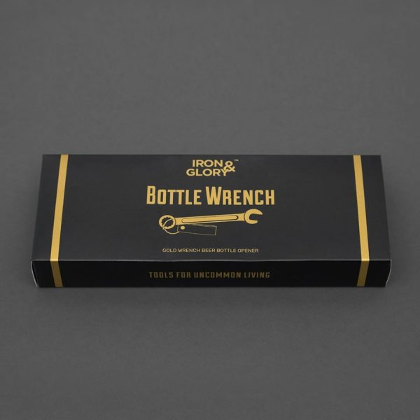 Antique Brass Wrench Bottle Opener Packaging