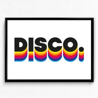 DISCO - Typography Poster