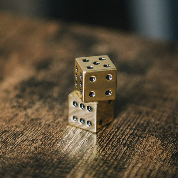Luxe Gold Dice Set