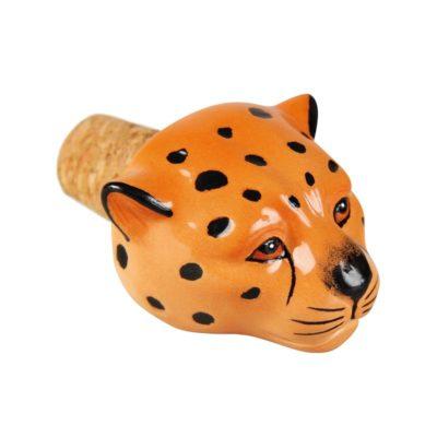 Leopard Bottle Stopper