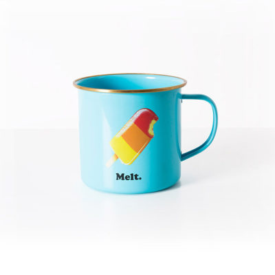 'What a Melt' Enamel Mug