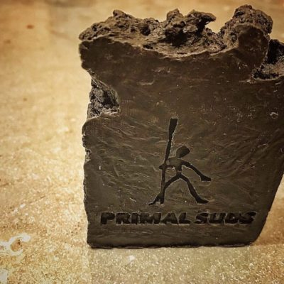 Activated Charcoal Caveman Soap