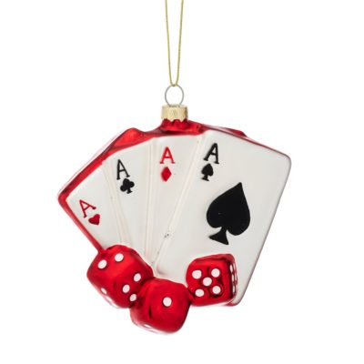 Poker Night Bauble