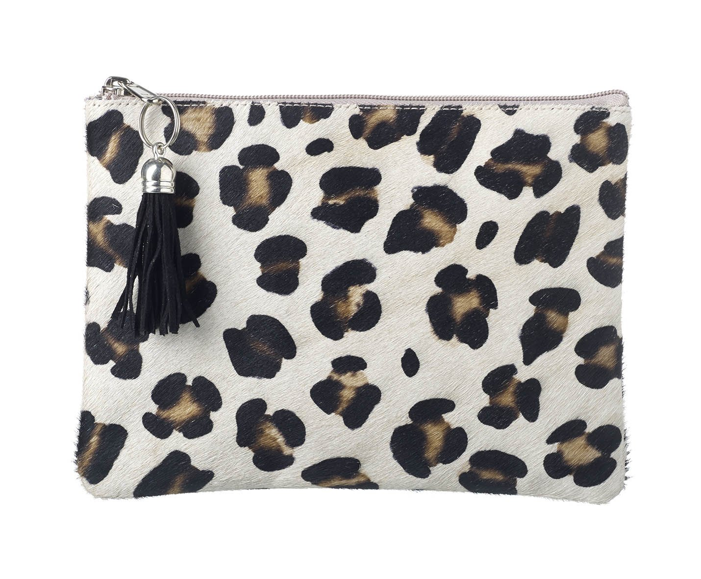Wild Animal Print Goat Hide Clutch Bags