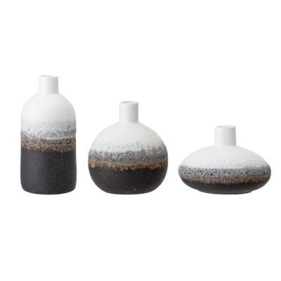Grey Tones Coral Effect Vase