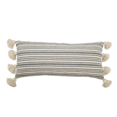 Faded Stripes Bolster Cushion