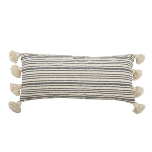 Faded Stripes Bolster Cushion