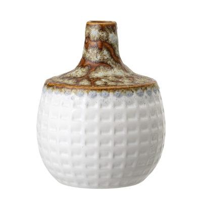 Lava Glazed Stoneware Vase