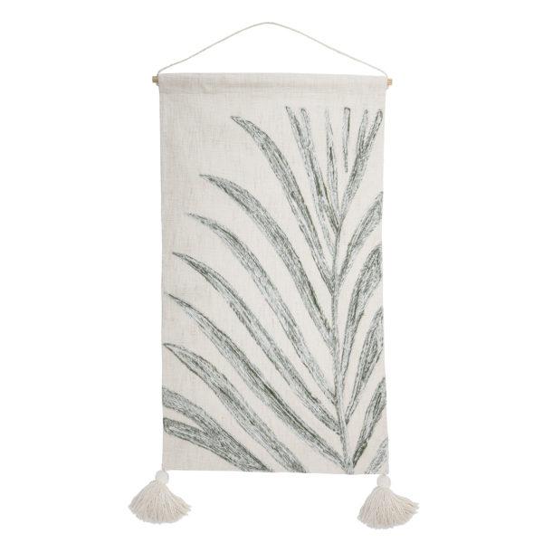 Botanical Linen Wall Hanging