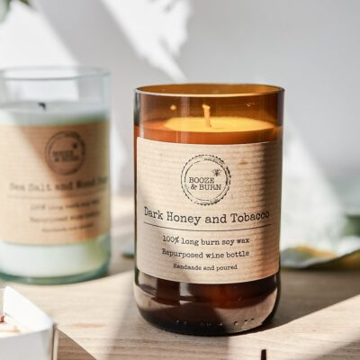 Dark Honey and Tobacco Soy Candle