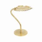 Gold Ginkgo Leaf Table