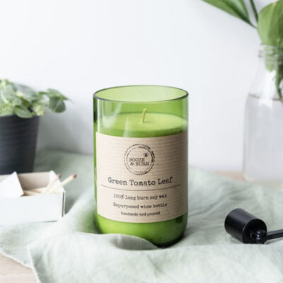 GREEN TOMATO LEAF SOY CANDLE