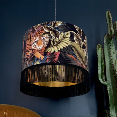 love-frankie-lampshade-big-cats-velvet-rust-fringing