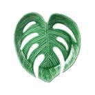 Large Monstera Leaf Bowl