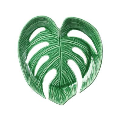 Large Monstera Leaf Bowl