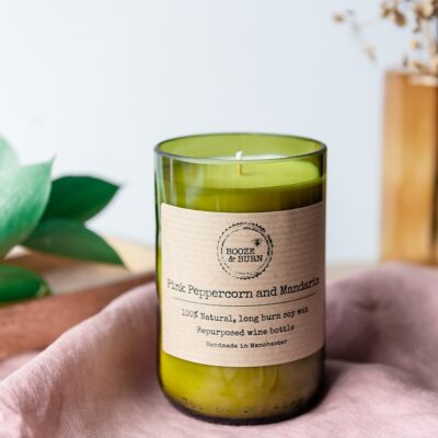 Pink Peppercorn and Mandarin Soy Candle