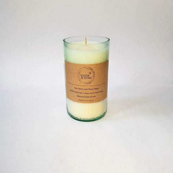 Sea Salt and Wood Sage Soy Candle
