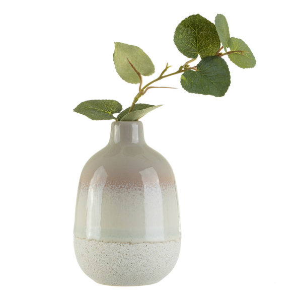 Mini Grey Glazed Vase