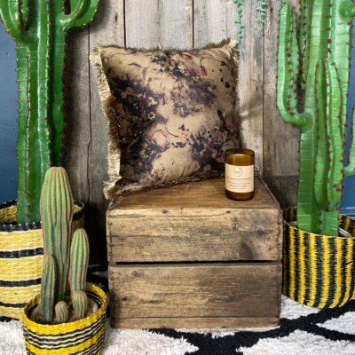 Silky Tassel Cushion