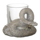 Antique Bronze Snake Tealight Holder