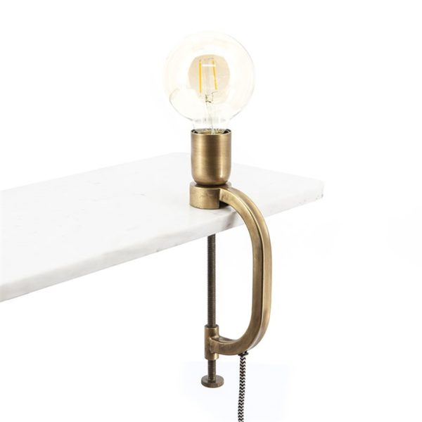 Brass Clamp Light