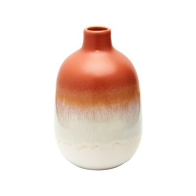 Mini Orange Glazed Vase
