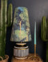 Grass Green Enchanted Queen Cone Velvet Lampshade