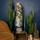 Paradise Lost Velvet King Cone Lampshade