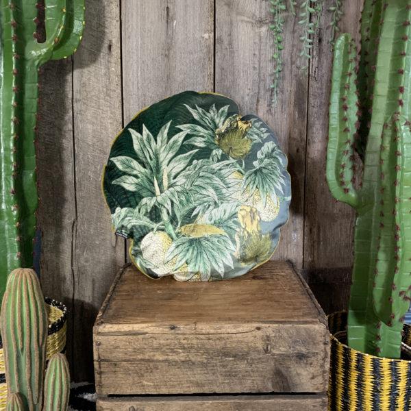 Jackfruit Velvet Cushion
