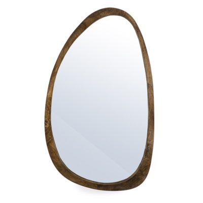 Brown Asymmetrical Mirror
