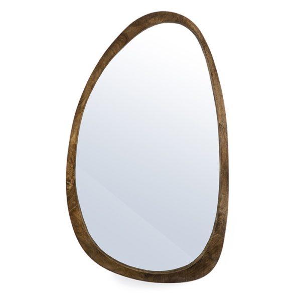Brown Asymmetrical Mirror