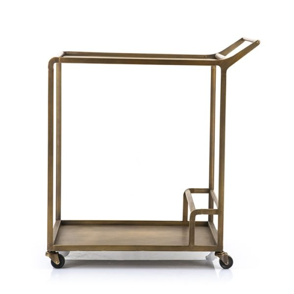 Gold Iron Drinks Trolley