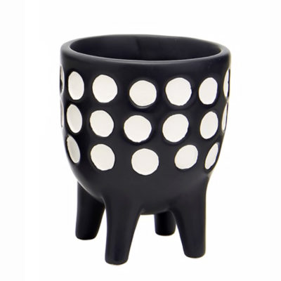 Mini Spotty Leggy Planter