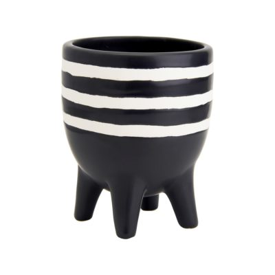 Mini Striped Leggy Planter